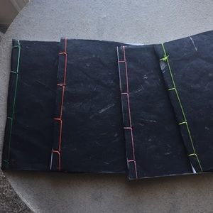 Other - Japanese stab bound sketchbooks with folded pages